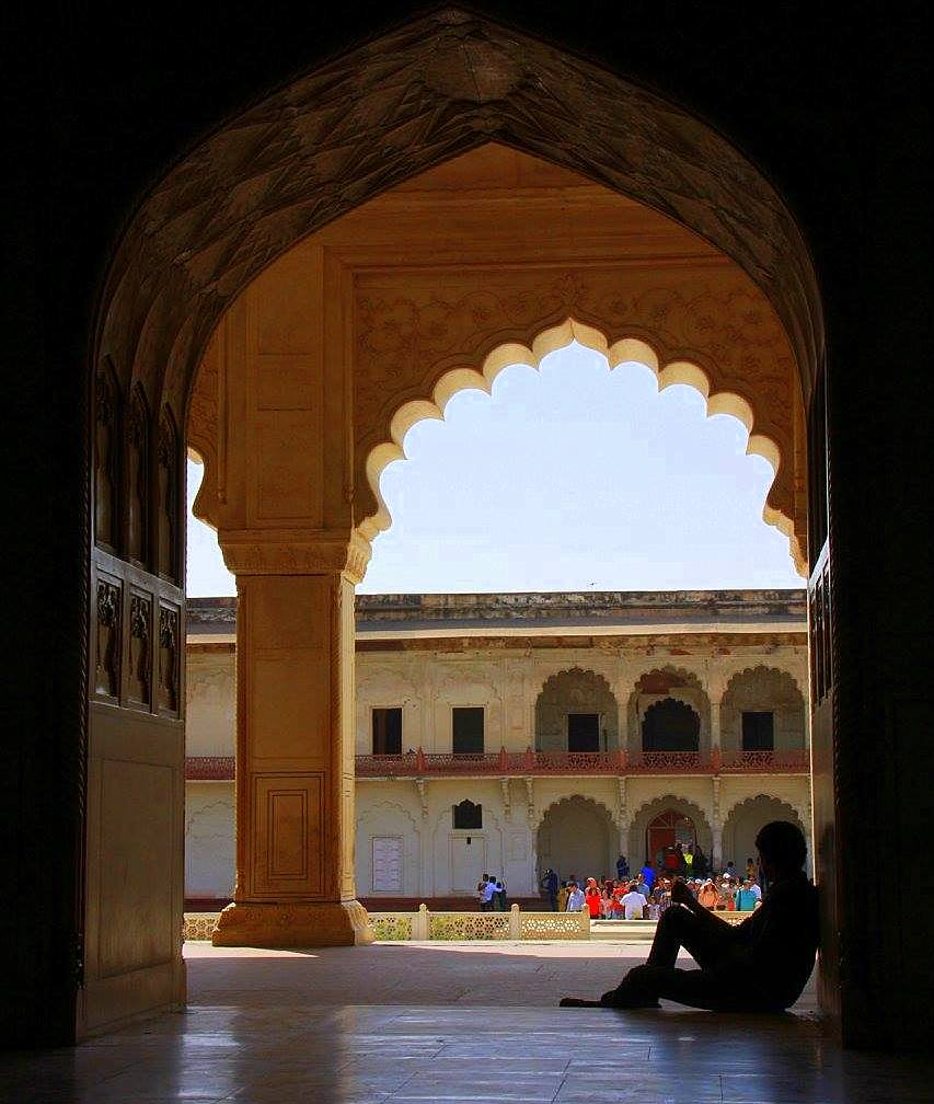 Agra Fort was the pride of the Mughals