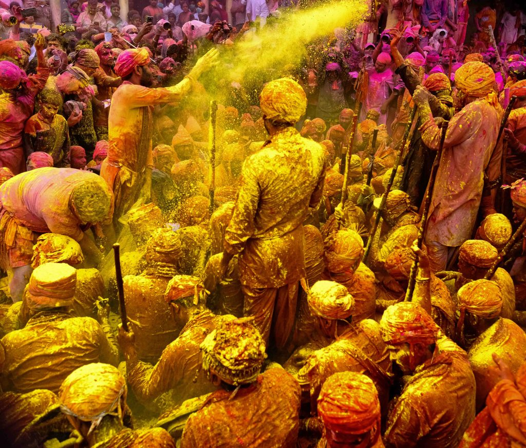 holi is one of the most beautiful festivals of india