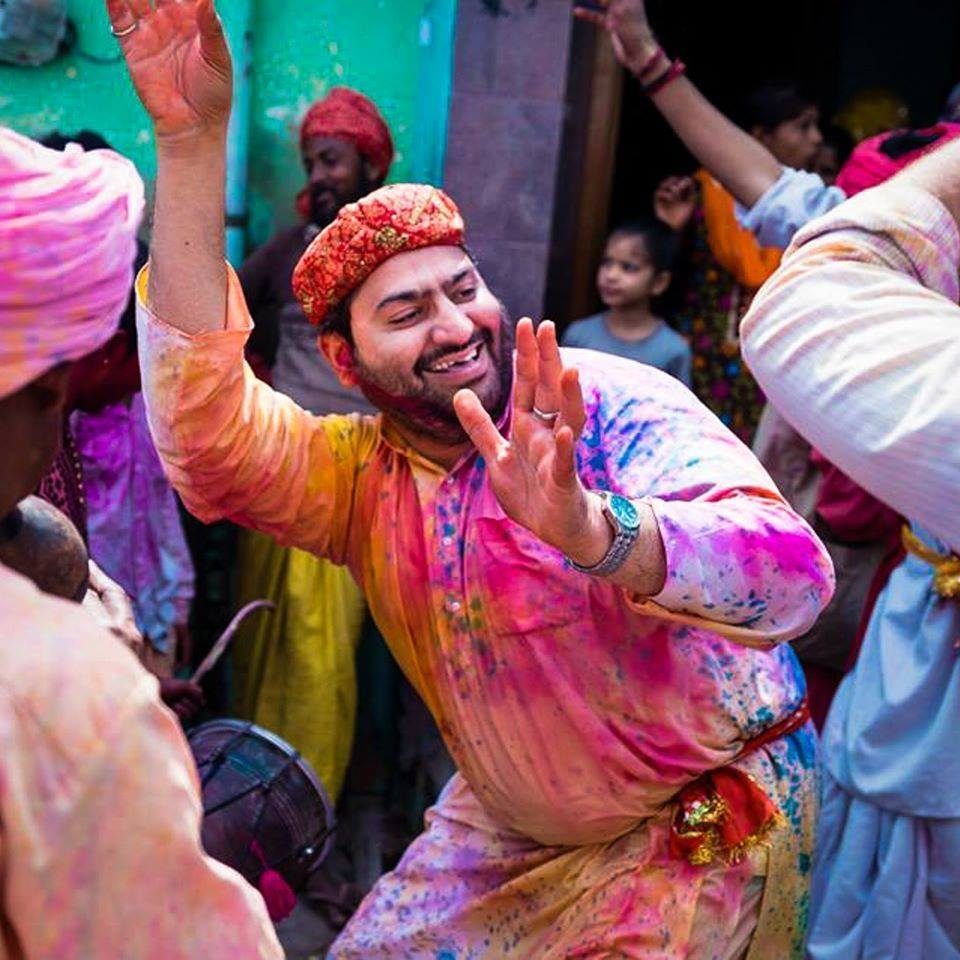 Photographer Mirza Tariq in a spiritual bliss among festivals of India