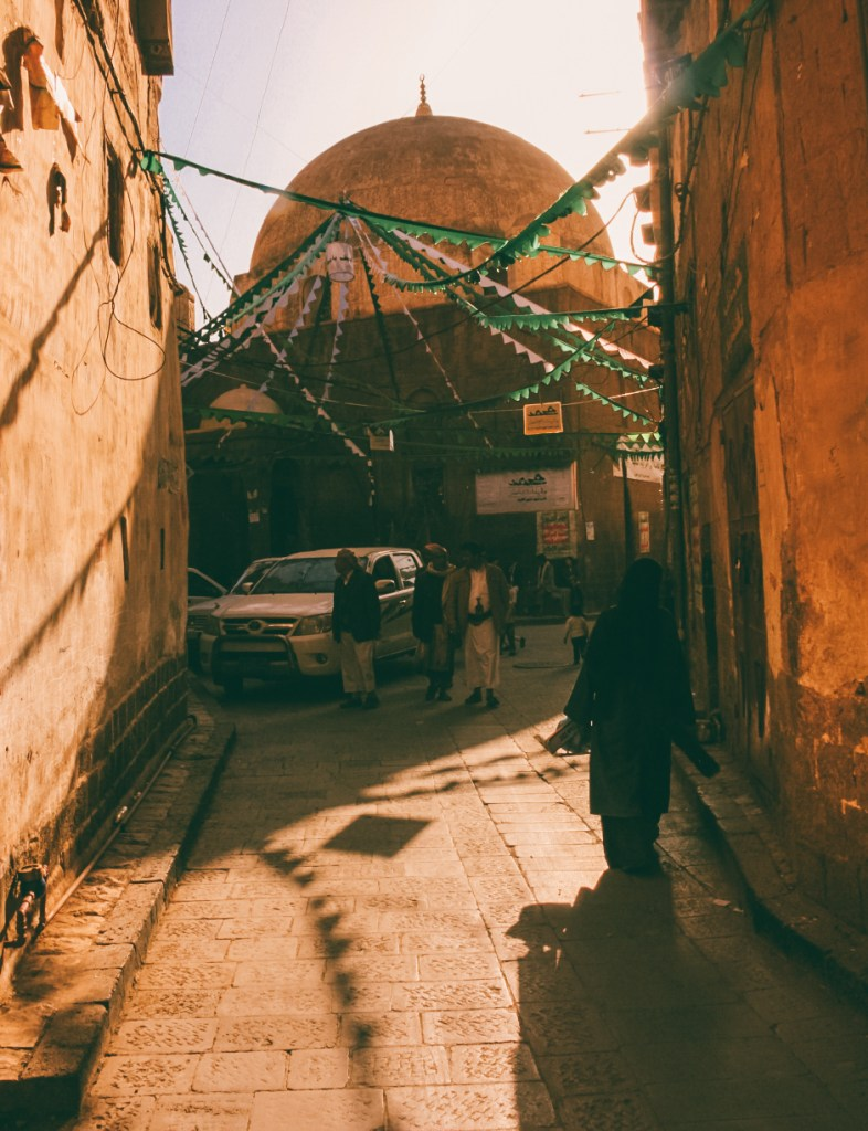 street photography during sanaa travel