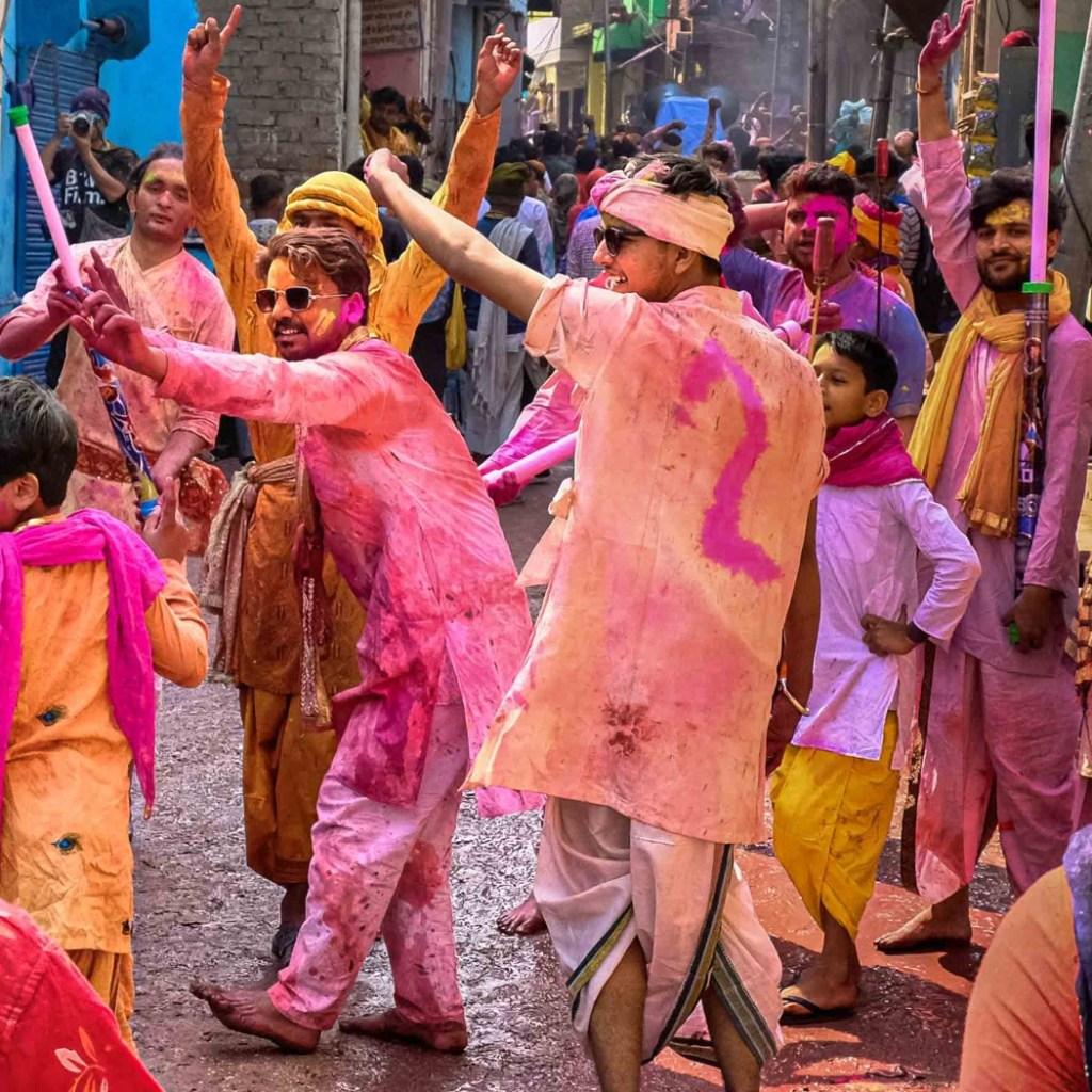 braj holi celebrations