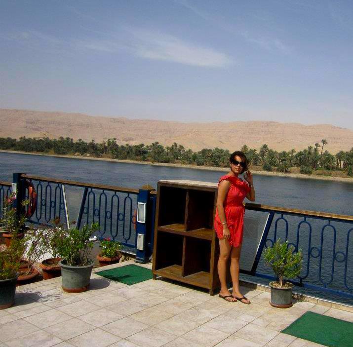 Nile cruise deck