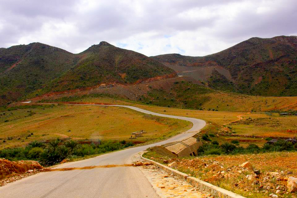 The one and only road of Socotra Yemen