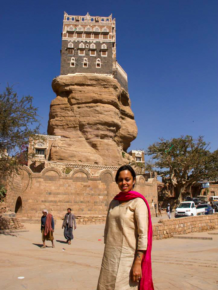 The Rock Palace of Wadi Dhahr