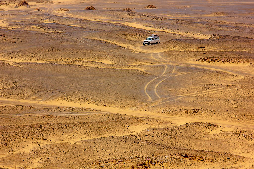 A vast empty space of Black Desert