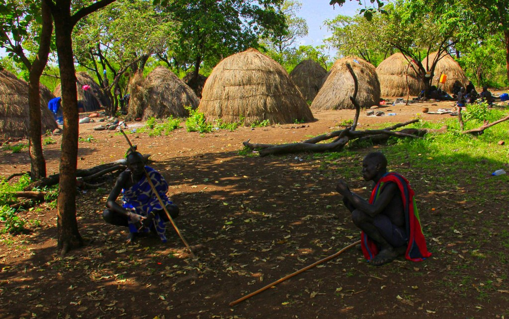 one of the omo valley tribes