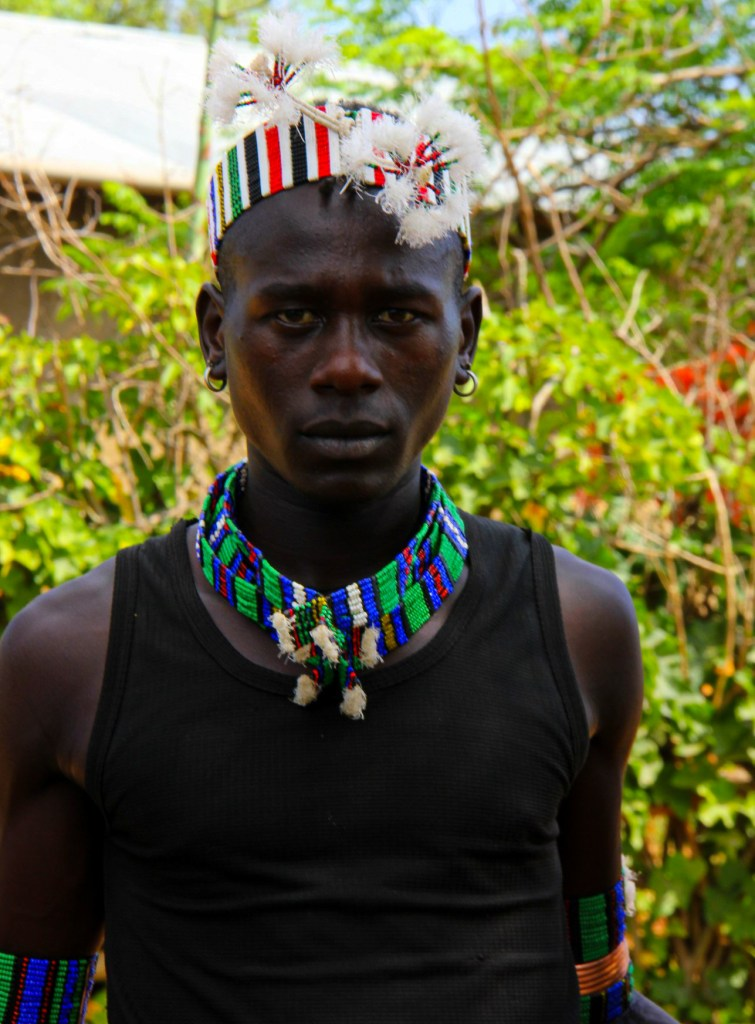 A Hamar man seen during my Omo Valley travel
