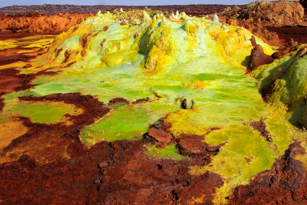dallol in danakil depression