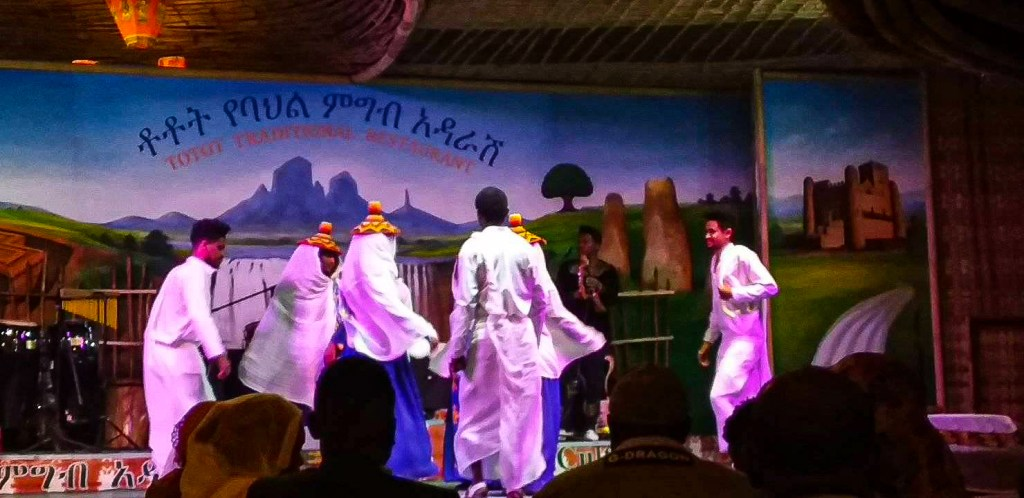 Ethiopian traditional show in Addis Ababa