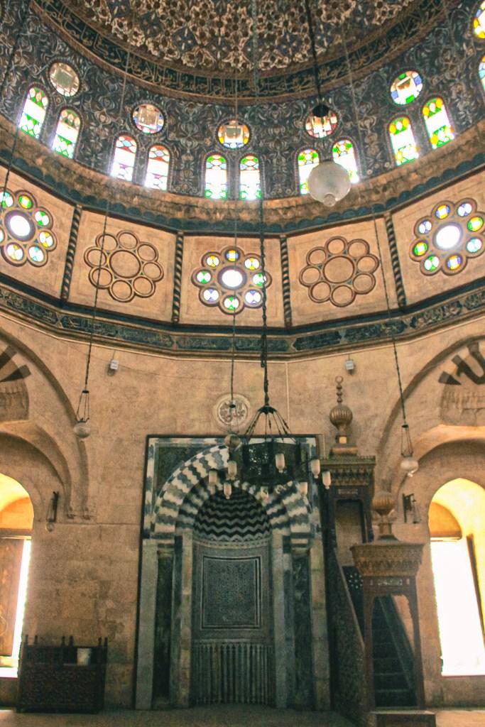 mosque of abu dahab's ottoman style