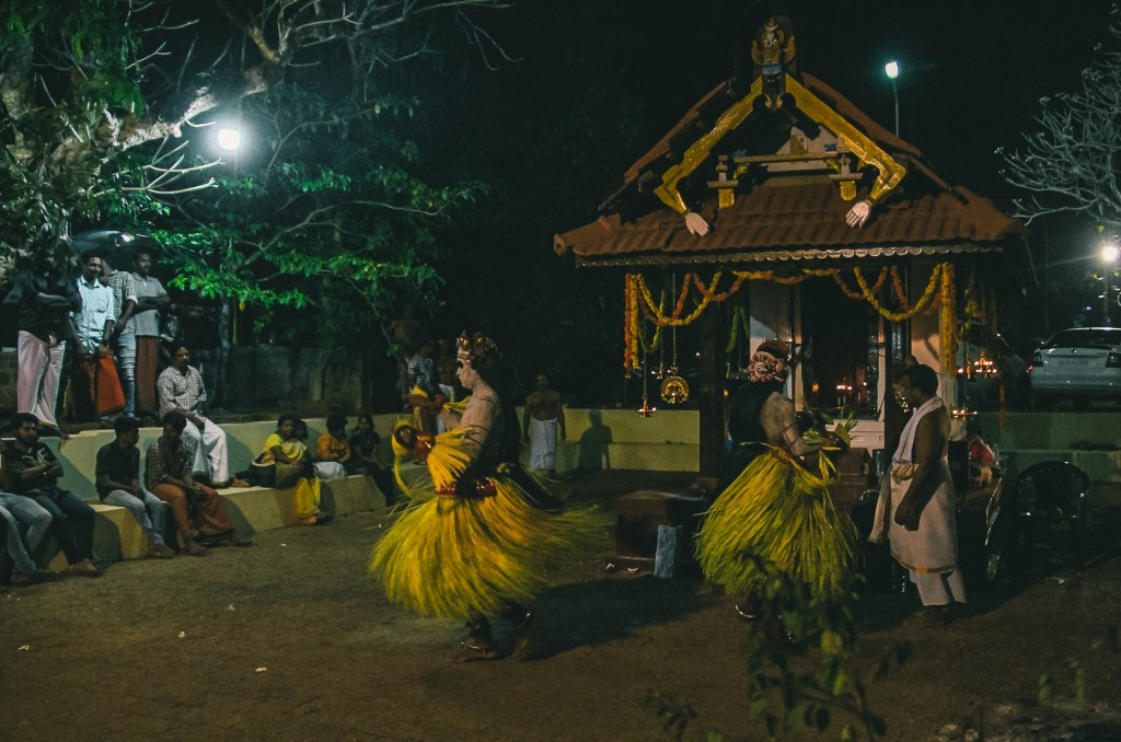 A kaavu where theyyam is performed