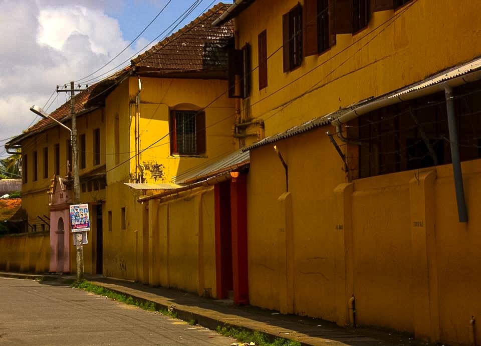 Fort Kochi street scene