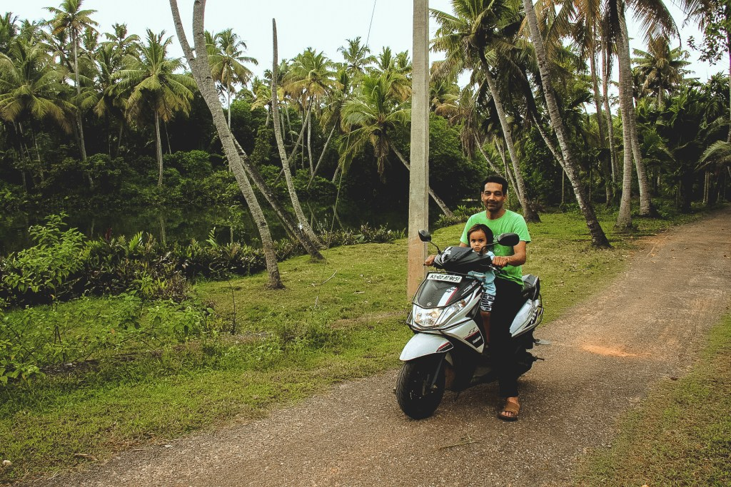 Explore Munroe Island on rented scooter or bike