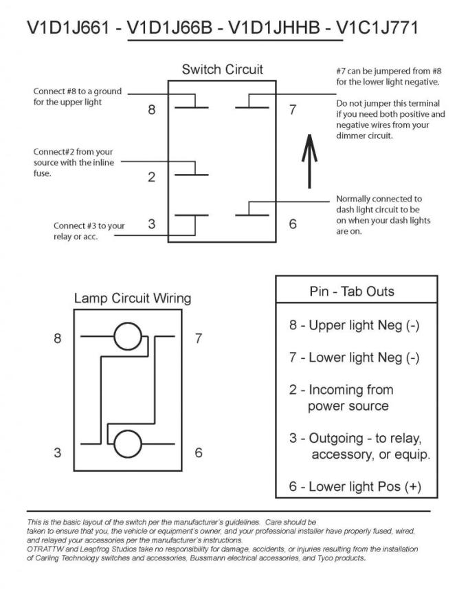 carling toggle switch wiring diagram carling image carling switch wiring diagram wiring diagrams on carling toggle switch wiring diagram
