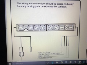 Help with wiring up Wetsounds Stealth Ultra 10 Soundbar
