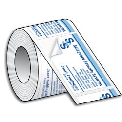 Business Card Stickers Promote Your Business
