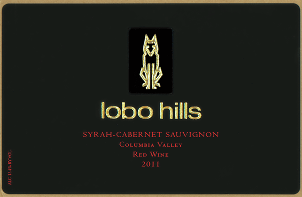 Wine Bottle Label for Lobo Hills