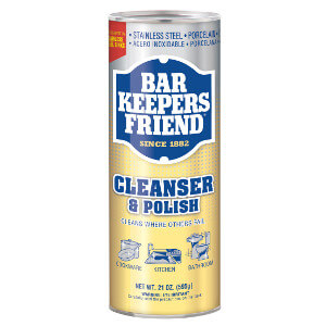 Bar Keepers Friend cleaning & polish