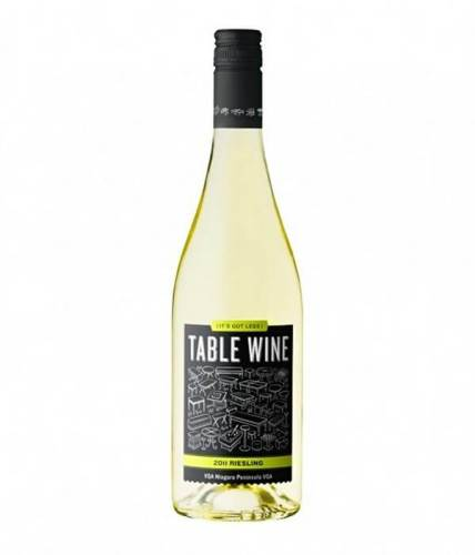 Table Wine creative wine label