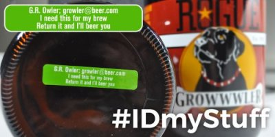 Add some fun to your growler ID
