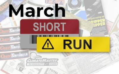 March Short Run