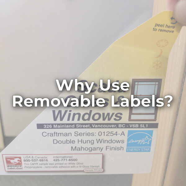 Why Use Removable Labels?