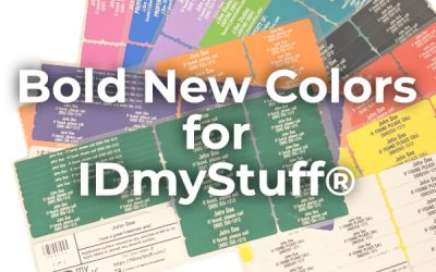 Bold New Colors for IDmyStuff®