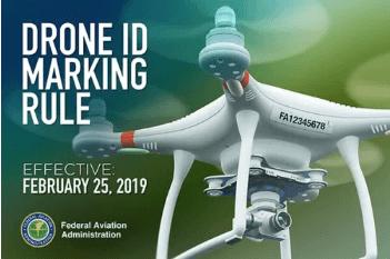 2019 FAA drone marking rule change