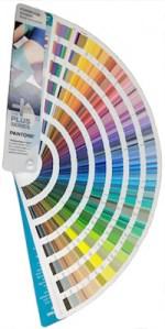 Pantone color guide fan