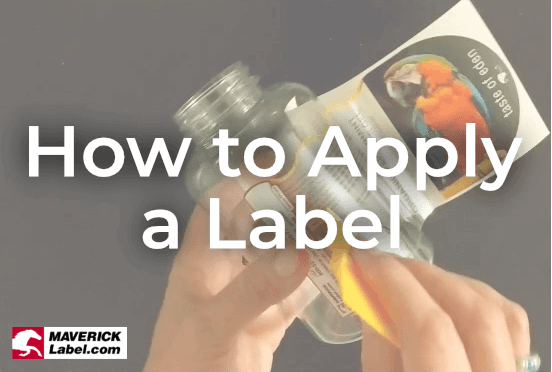 How to Apply a Label