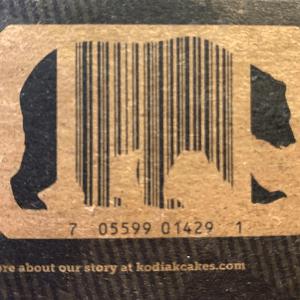 Kodiak barcode inside a bear