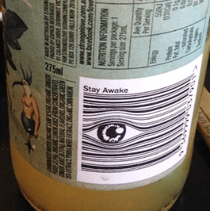 This barcode would cause me to stay awake - large eye watching you