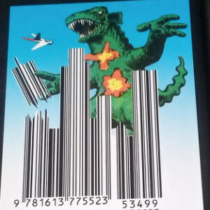 Monster destroys barcode city in rampage