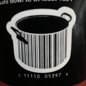 Soup pot barcode