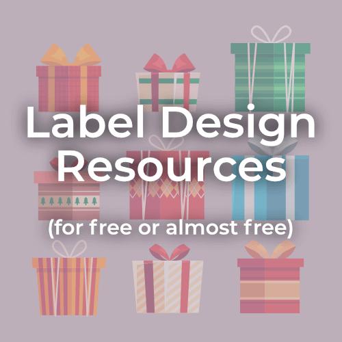 Label Design Resources