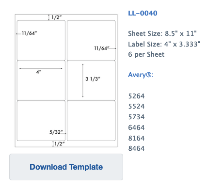 downloadable template