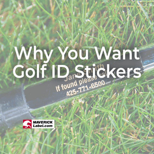 Why You Should Have Golf ID Stickers