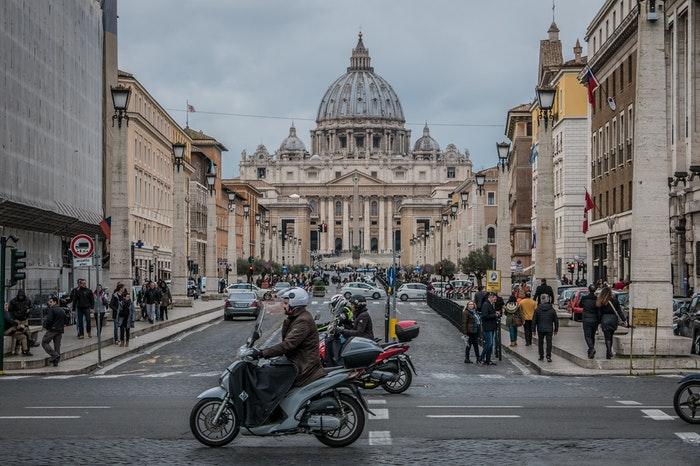Roma qué visitar con tráfico en el centro histórico