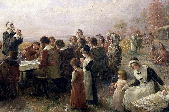 Cuadro del Día de Acción de Gracias