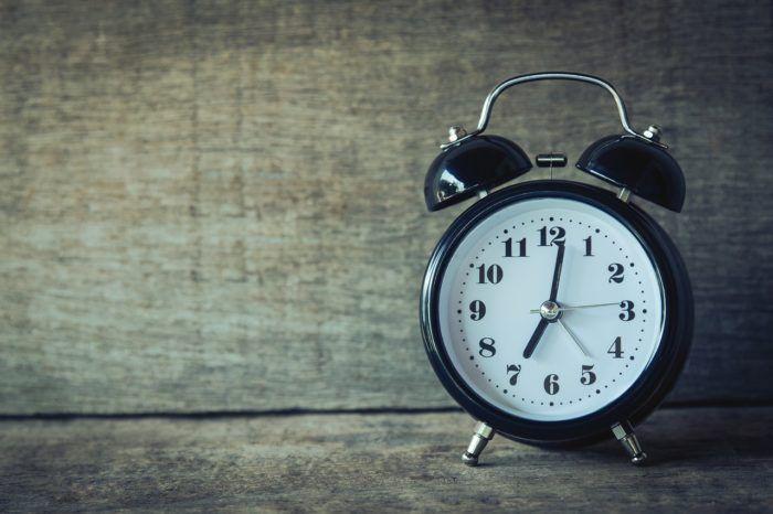reloj como símbolo de las rutinas