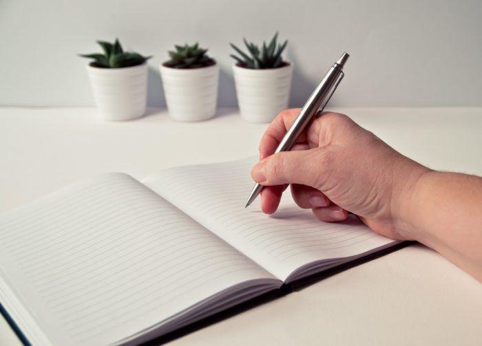 Agenda para organizar tus tareas y metas