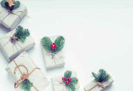 Regalos de Navidad minimalista