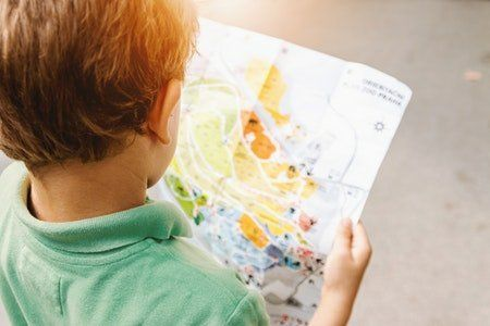 Actividades con mapas para niños