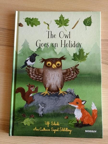 Portada del cuento Owl goes on holiday