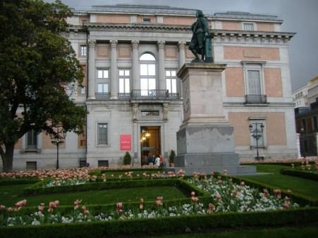 Puerta de Bravo Murillo del Museo del Prado