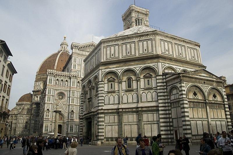 Concurso de 1401: Baptisterio de Florencia