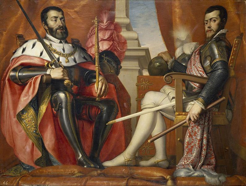 Los reyes de España en la Edad Moderna