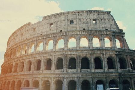 Coliseo de Roma- anfiteatro- arquitectura romana