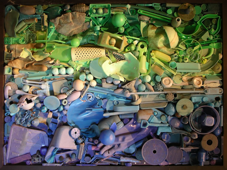 Assemblage by Martin Waters