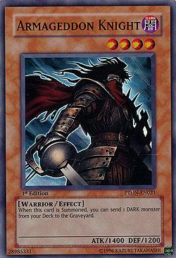 Armageddon Knight Phantom Darkness Boosterserien